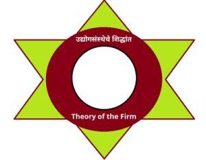 उद्योगसंस्थेचे सिद्धांत (Theory of the Firm)