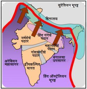 भारतातील भूकंपप्रवण क्षेत्रे (The Seismic Zones in India)