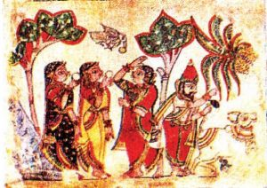 Chitrakathi is a limited but important folk art-painting