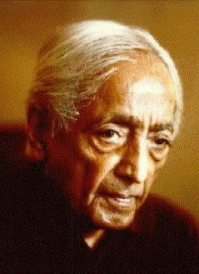 जे. कृष्णमूर्ती (J. Krishnamurti)