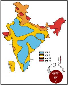 भारतीय भूकंपासंबंधित मानके (The Indian Seismic Codes)