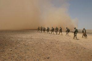 वाळवंटी प्रदेशातील युद्धपद्धती (Desert Warfare)
