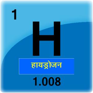 हायड्रोजन (Hydrogen)