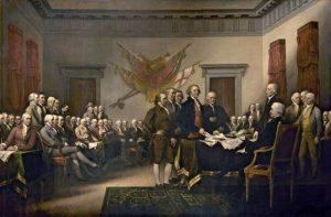 अमेरिकेच्या स्वातंत्र्याचा जाहीरनामा (United States Declaration of Independence)