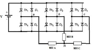 Read more about the article त्रि-प्रावस्था परिवर्तक (3-Phase Inverter)