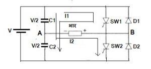 एक-प्रावस्था परिवर्तक (Single Phase Inverter)