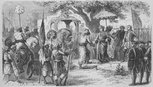 इंग्रज-फ्रेंच युद्धे, भारतातील (The Anglo-French Struggle) (Carnatic Wars)