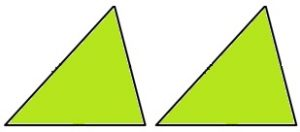 त्रिकोण एकरूपतेच्या कसोट्या (Triangle Congruency Test)