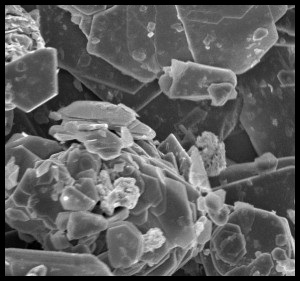 मॉलिब्डेनम डायसल्फाइड अब्जांश कण(Molybdenum Disulphide Nanoparticles)