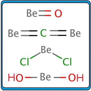 बेरिलियम  संयुगे (Beryllium compounds)