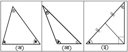 त्रिकोणाचे प्रकार (Types of Triangle)
