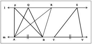 त्रिकोणाचे क्षेत्रफळ (Area of Triangle)