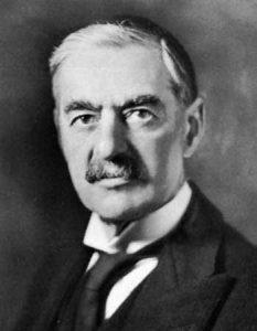 आर्थर नेव्हिल चेंबरलिन (Arthur Neville Chamberlain)