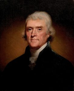 टॉमस जेफर्सन (Thomas Jefferson)