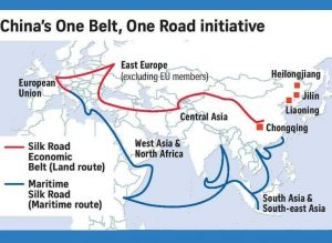 Read more about the article वन बेल्ट वन रोड (One Belt One Road)