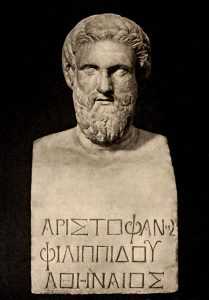Read more about the article ॲरिस्टोफेनीस (Aristophanes)