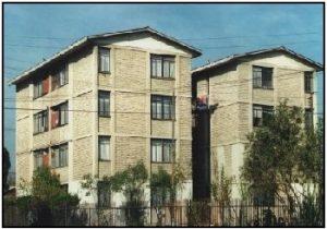 परिरुद्धित बांधकाम इमारती (Confined Masonry Buildings)