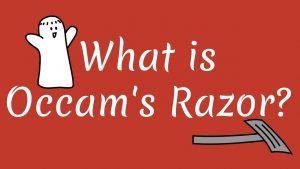 ओखमचा वस्त्रा (Occam's Razor)