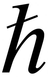 प्लांकचा स्थिरांक  (Planck's Constant)