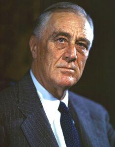 फ्रँक्लिन डेलॅनो रूझवेल्ट (Franklin D. Roosevelt)
