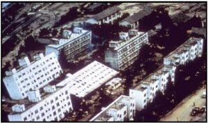 भूकंपादरम्यान जमिनीच्या द्रवीभवनाचा इमारतींवर होणारा परिणाम (Effects of soil liquefaction on buildings during earthquakes)