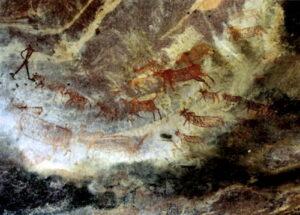 भीमबेटका येथील शैलचित्रे (Rock Paintings of Bhimbetka)