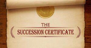 उत्तराधिकार प्रमाणपत्र (Succession Certificate)
