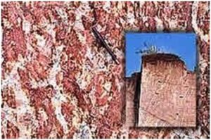 आर्थिक भू – स्मारके : जांभा खडक (Economic Geo – Monuments : Laterite Rock)