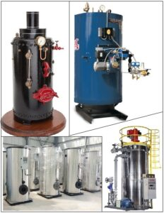 सुलभ अनुलंब बाष्पित्र (Simple Vertical Boiler)