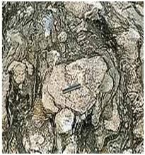 शिला स्मारके : अग्निदलिक खडक (Rock Monuments : Pyroclastic Rocks)