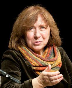 स्वेतलाना अलेक्सिव्हिच  (Svetlana Alexievich)