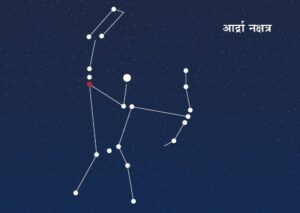 आर्द्रा नक्षत्र (Ardra Constellation)