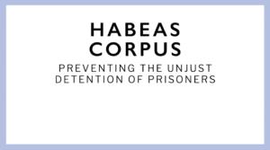 Read more about the article बंदीप्रत्यक्षीकरण (Habeas corpus)