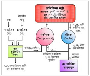 Read more about the article हाबर-बॉश विक्रिया  (Haber-Bosch process)
