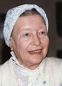 सीमॉन द बोव्हार (Simone de Beauvoir)