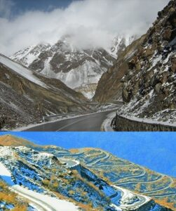 Read more about the article हिमालय पर्वतातील खिंडी (Passes in Himalaya Mountain)