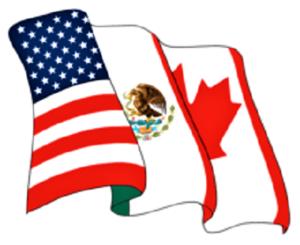 उत्तर अमेरिकन मुक्त व्यापार करार (North American Free Trade Agreement NAFTA)