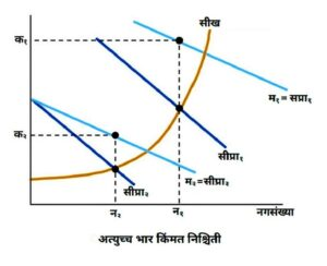 Read more about the article अत्युच्च भार किंमत निश्चिती (Peak Load Pricing)