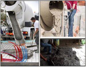 काँक्रीट बनविण्याची प्रक्रिया (The process of making concrete)
