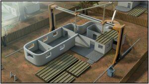 त्रिमितीय मुद्रणाचा बांधकामात वापर (Use of 3D Printing in Construction)
