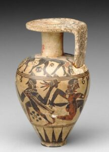 ग्रीक कला : आर्ष काळ (Greek Art : Archaic Period)