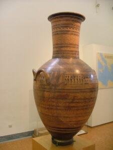 ग्रीक कला : भौमितिक काळ (Greek Art : Geometric Period)