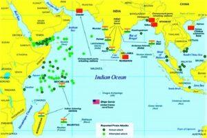 Read more about the article हिंदी महासागराचे सामरिक महत्त्व (Strategic Importance of Indian Ocean)