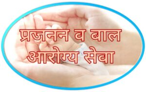 Read more about the article प्रजनन व बाल आरोग्य सेवा (Reproductive and Child Health Services)